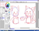 Wip Sushi Bro And Sis by xXKathyKittyXx