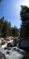 Vernal Falls Panorama by StoneE608