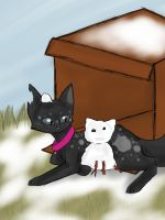 Prickle built an evil snowcat (TcotV) by TheClansOf-TheValley