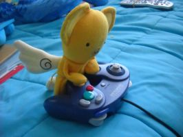 Kero is on my gamecube by MissIceBlue