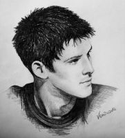 Colin Morgan by venikova