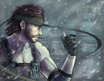 Solid Snake by louten