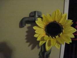 Russia Pipe With Sunflower by Tray-kun