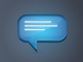 Chat Icon by kirtschi