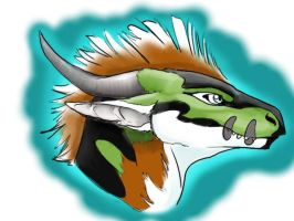 Earth dragon: suit auction by Sharpe19