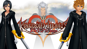 Kingdom Hearts 358/2 Days Desktop Background by dmetrius96