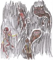 Silent Hill - Crappy monsters by Bealzabuth