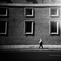 Man and a building by Xibalban