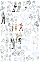Sketchdump - Feb. '12 by Nikki0417