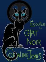 Coraline Chat Noir by Arnumdrusk