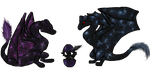 Nebula Family by lavaheart626