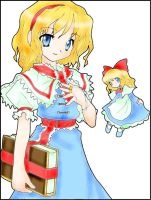 Alice Margatroid by sumomin