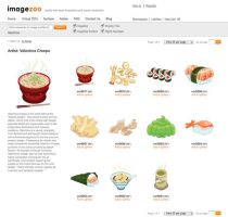 Kawaii Sushi Vector Imagezoo by KawaiiUniverseStudio