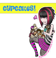 Hey, cupcake. by DepictAddict
