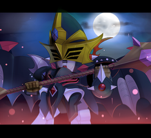 Deathscythe Art-trade by Xzeit