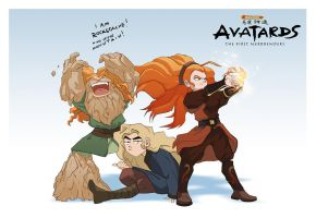Avatar spin-off Characters by lord-phillock