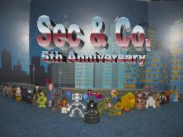Happy 5th Anniversary Sec and Co. by Dalek44