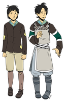 Teal - Character Design by twapa