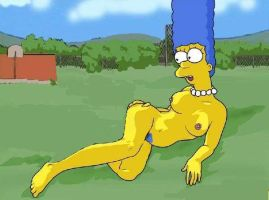 Marge Simpson (20) by artful-bodger