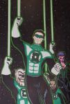 Green Lantern Corps by JokerHarley2345