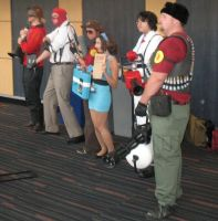 A Little Team Fortress 2 Group by snowsuper123