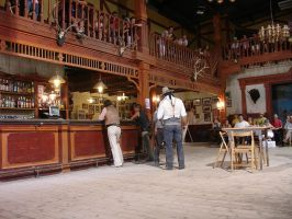Western country saloon 2 by Nestaman