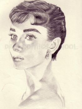 Audrey by a-bart