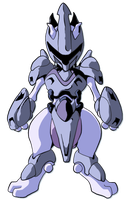 Mecha Mewtwo by Neeja