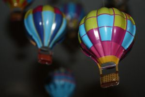 Hot Air Balloon Mobile by CrossFade1105