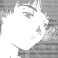 Serial Experiments Lain ASCII by PsyBear