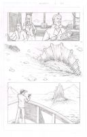 Durontus Rising Page 13 Pencils by KillustrationStudios