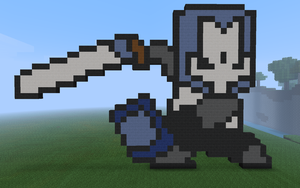 Blue Knight - Castle Crashers by CrazyElectrum
