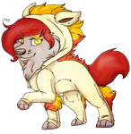 Ponyta fox by Blind-Kidd