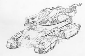 Heligfaust Mobility Tank by Jepray