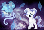 Crystal Rarity - The Wallpaper by NightmareLunaFan