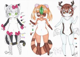 : Stylish Adopts Set : by Chewy-Adopts