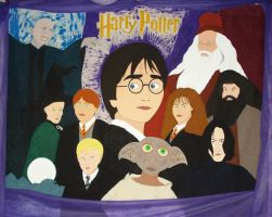 Harry Potter by GustavoMorales