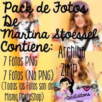 Pack de Fotos Martina Stoessel by CeciiEditons