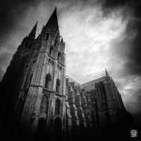 Cathedral of Chartres (France) by sylvaincollet