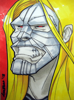 Luther Strode Sketch card by DRPR