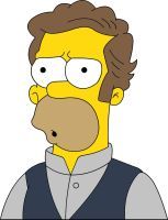 Homer Simpson - 01 - Simpsons by frasier-and-niles