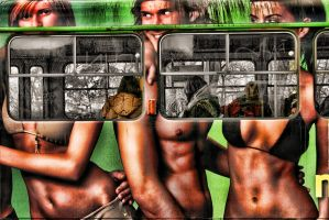 praga bus by roa006