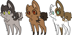 adoptables - CLOSED by evertenn
