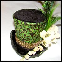 St Patricks Day Magic Top Hat by SteamSociety