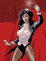 zatanna mistress of magic by Benjaminjuan