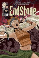 Endstone Issue 9 Cover by quillcrow