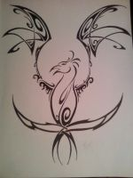 Phoenix tattoo by ForgivenFallenAngel