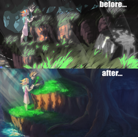 before after forest pic by arinfu