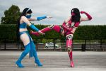 MK 9 Mileena Kitana Cosplay by Willwarine