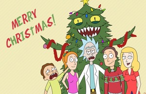 Merry Rickmas! by starlite-decay
